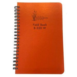 Wire Bound survey field book