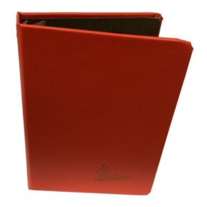 Hard cover cloth bound 3-ring binder for loose leaf field paper