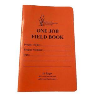 One Job survey field book