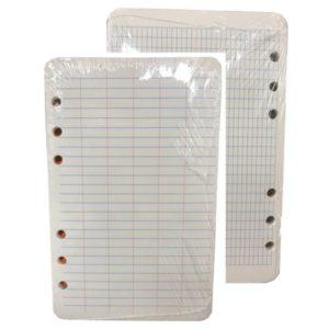 Lose leaf survey field paper filler