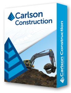 Carlson Construction software for surveying construction layout