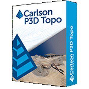 Carlson P3D Topo